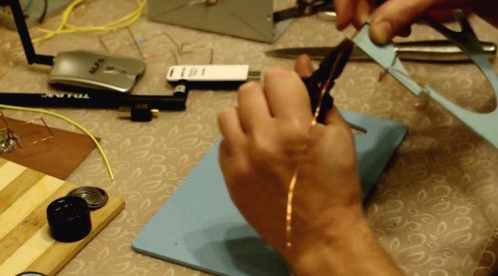 Как сделать направленную WIFI антенну