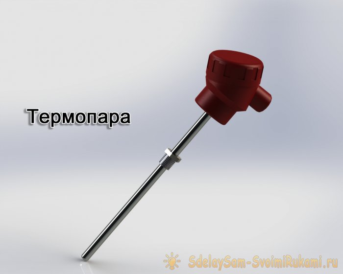 Thermistor difference from thermocouple