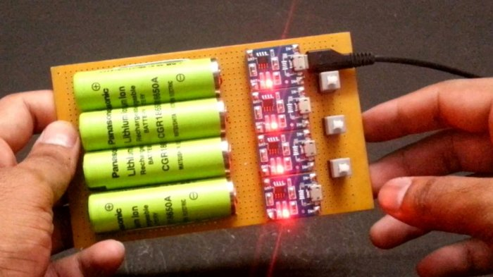 Charger for Li-ion batteries