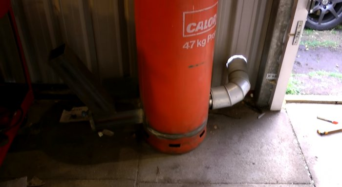Ракетная печь из газового баллона своими руками: инструкция