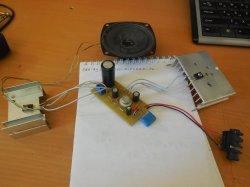 Простой транзисторный усилитель класса «А»