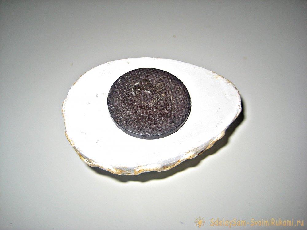 Пасхальные магниты из гипса