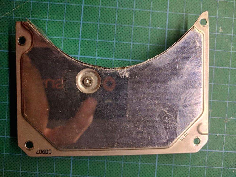 Шлифовальная машинка из HDD с регулировкой оборотов