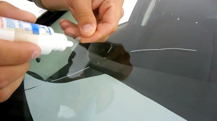 1523356878 9 - Убираем трещину на лобовом стекле