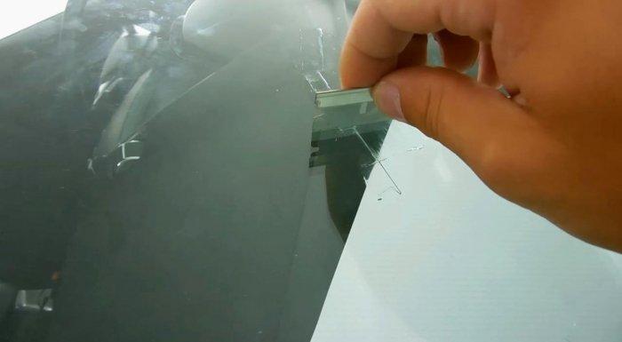 1523356910 19 - Убираем трещину на лобовом стекле