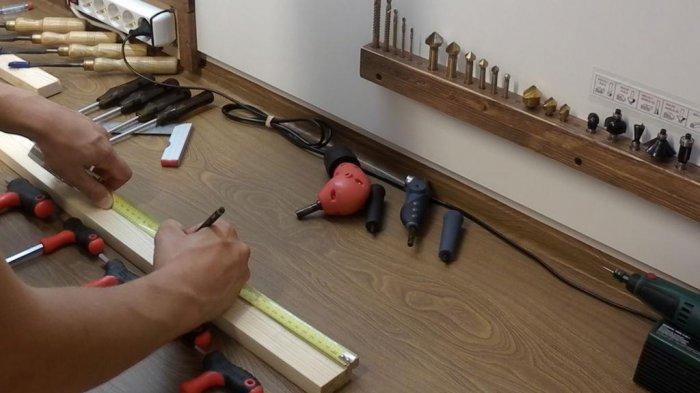 1523855883 5 - Делаем держатели для инструментов в гараже