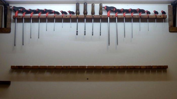 1523855921 29 - Делаем держатели для инструментов в гараже