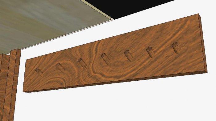 1523855962 44 - Делаем держатели для инструментов в гараже
