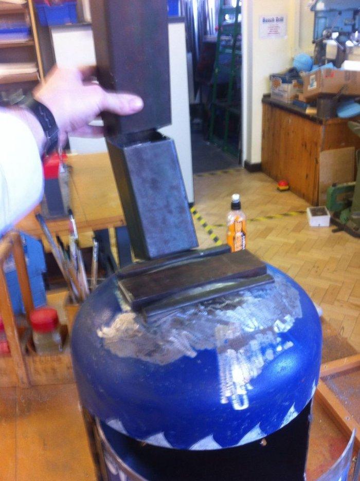 1524204357 5 - Компактная печь  из газового баллона