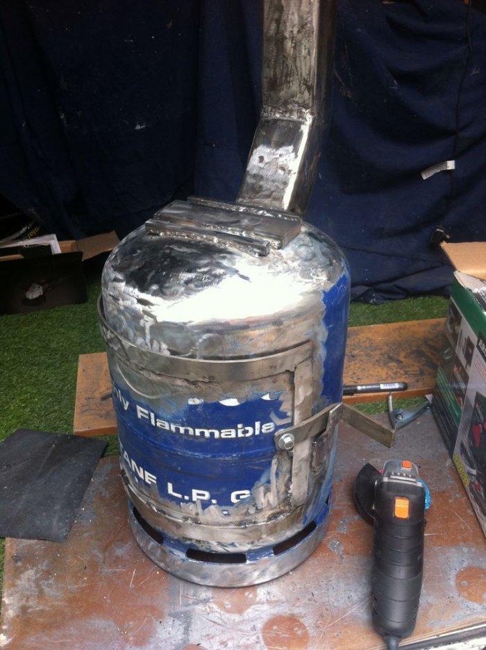 1524204359 6 - Компактная печь  из газового баллона