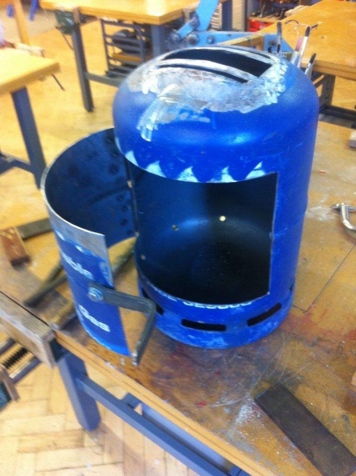 1524204416 4 - Компактная печь  из газового баллона