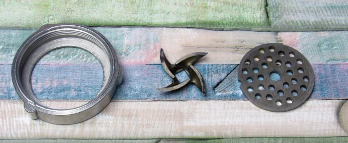 Как просто заточить ножи мясорубки