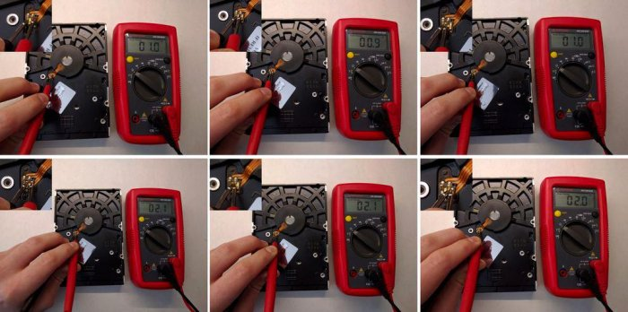 HDD sander with speed control