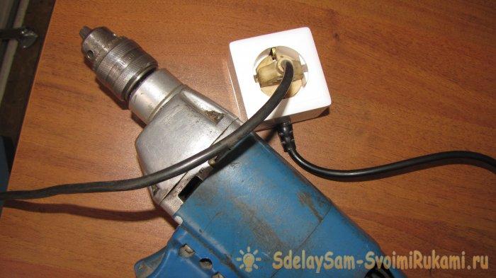 2 способа плавного пуска электроинструмента с обычной