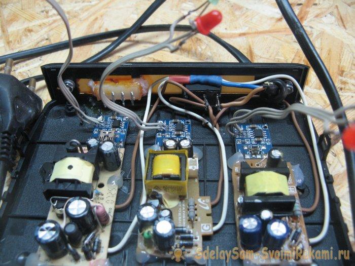 Li-ion balancing charger