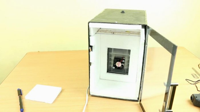 Mini fridge 12V do it yourself