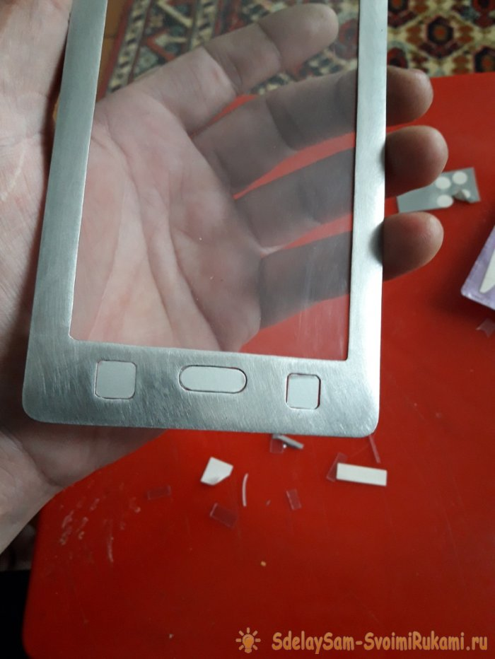 Steel hard case for phone