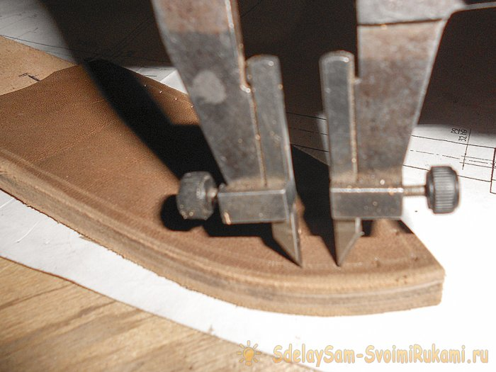 How to sew the sheath for a knife