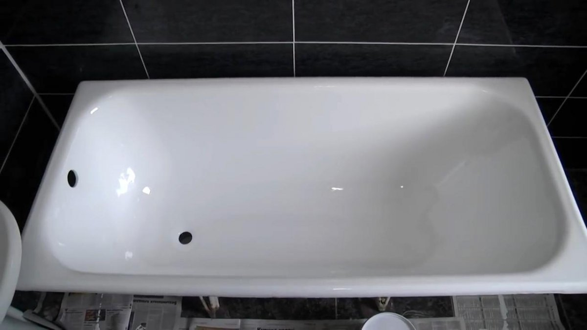 Реставрация чугунных ванн своими руками