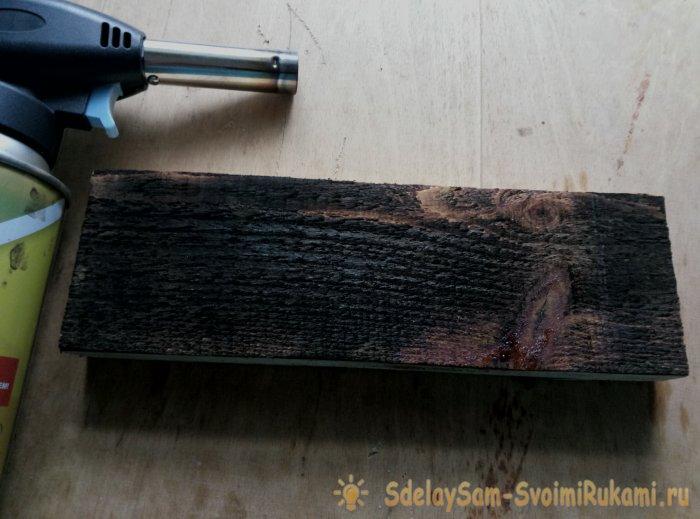 Глубокий обжиг древесины своими руками