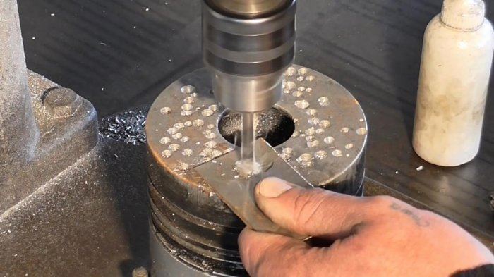 How to make a drill from a nail