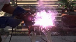 We weld aluminum without argon
