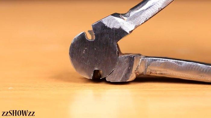 Pliers from broken pliers