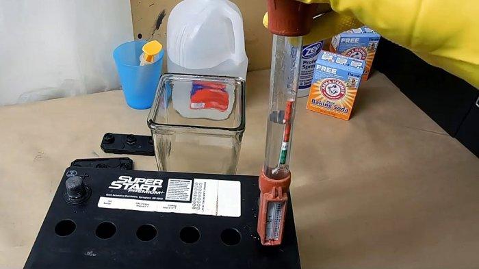 1530878748 4 - Восстанавливаем автомобильный аккумулятор пищевой содой