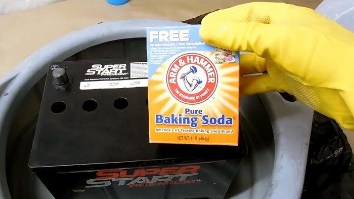 1530878750 9 - Восстанавливаем автомобильный аккумулятор пищевой содой