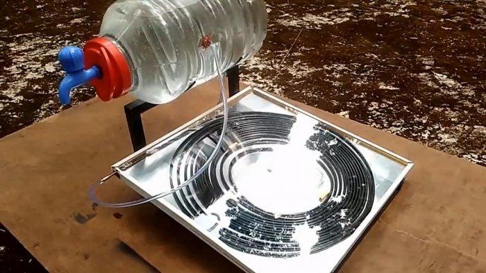 Солнечный водонагреватель своими руками: схема, устройство