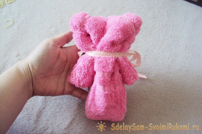 Как сделать медведя из полотенца: пошаговая инструкция, как