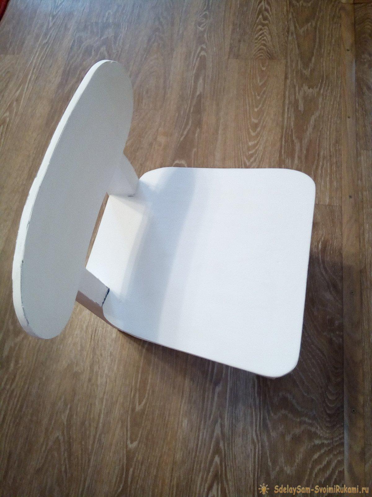 Как обновить детский стульчик