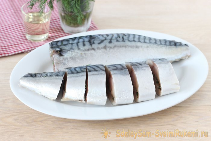 How to pickle mackerel tasty