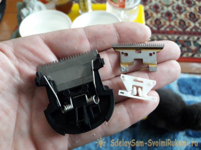 Уход и заточка ножей машинки для стрижки