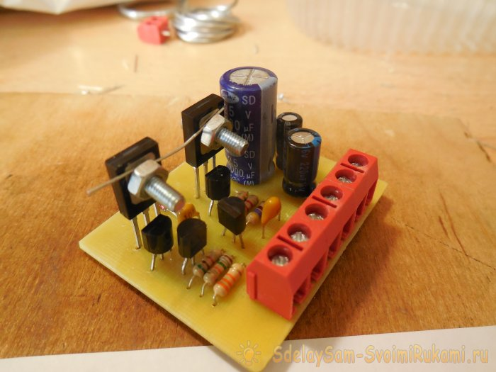 Audio Transistor Amplifier