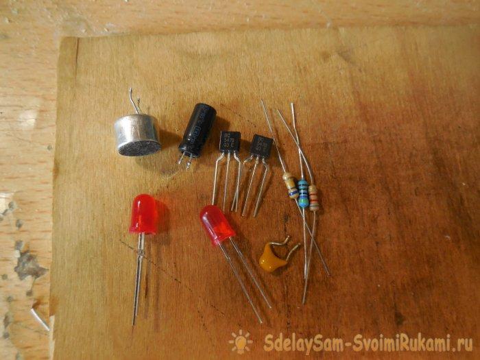 LED acoustic flasher