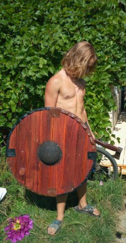 Щит викингов и славян своими руками
