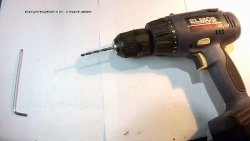 How to eliminate beating of the cartridge in the screwdriver