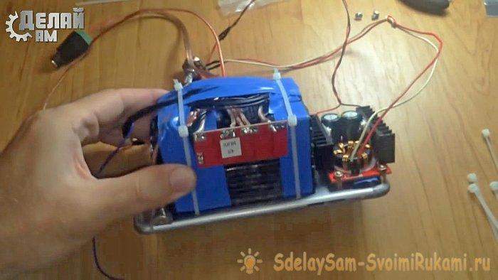 Do-it-yourself 100-watt lantern