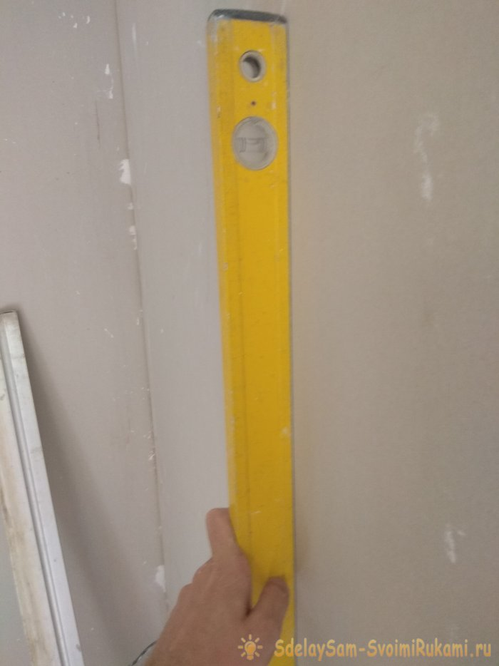 Installation of drywall to the wall with your own hands