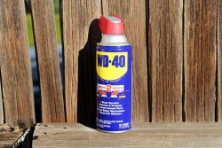 Unusual use of WD-40