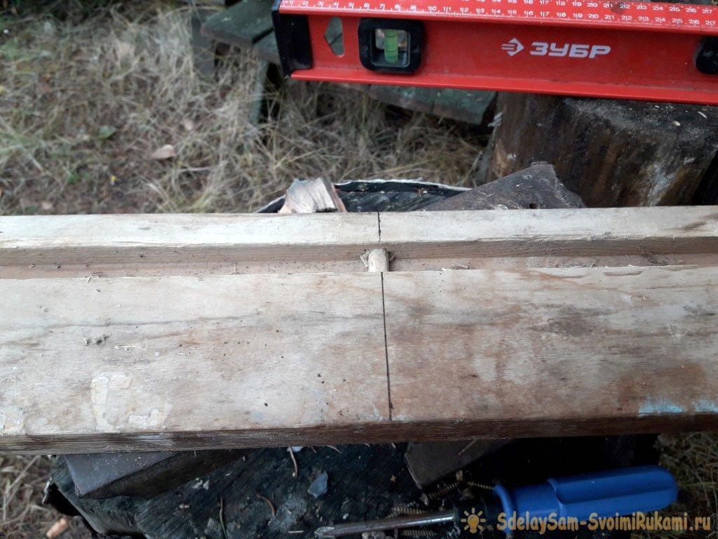 Реставрация старого «убитого» стола