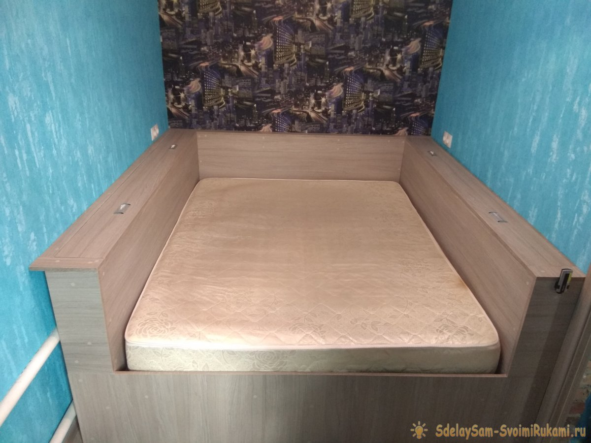 Изготовление двухспальной кровати своими руками