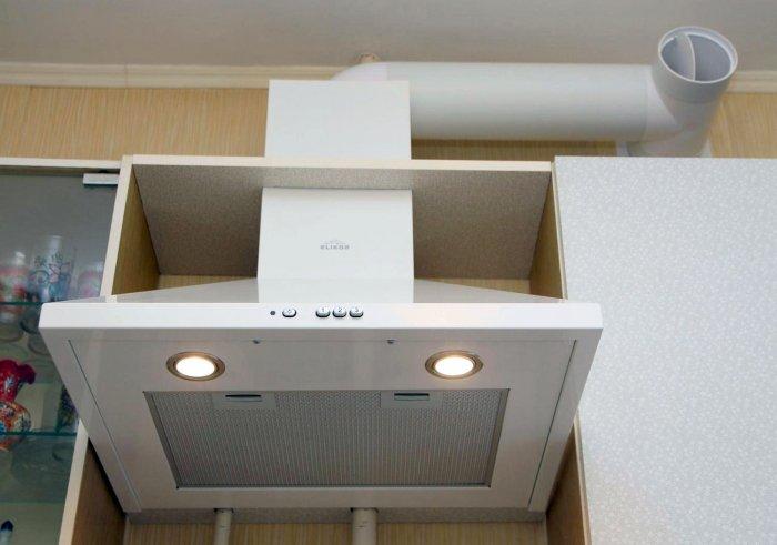 Как установить вытяжку над плитой: газовой, электрической