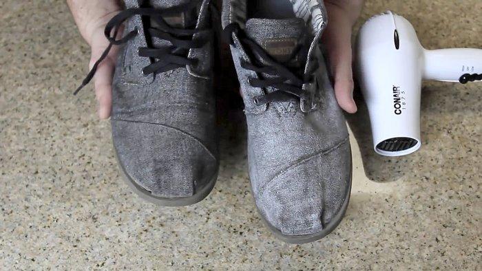 Как сделать матерчатую обувь водонепроницаемой