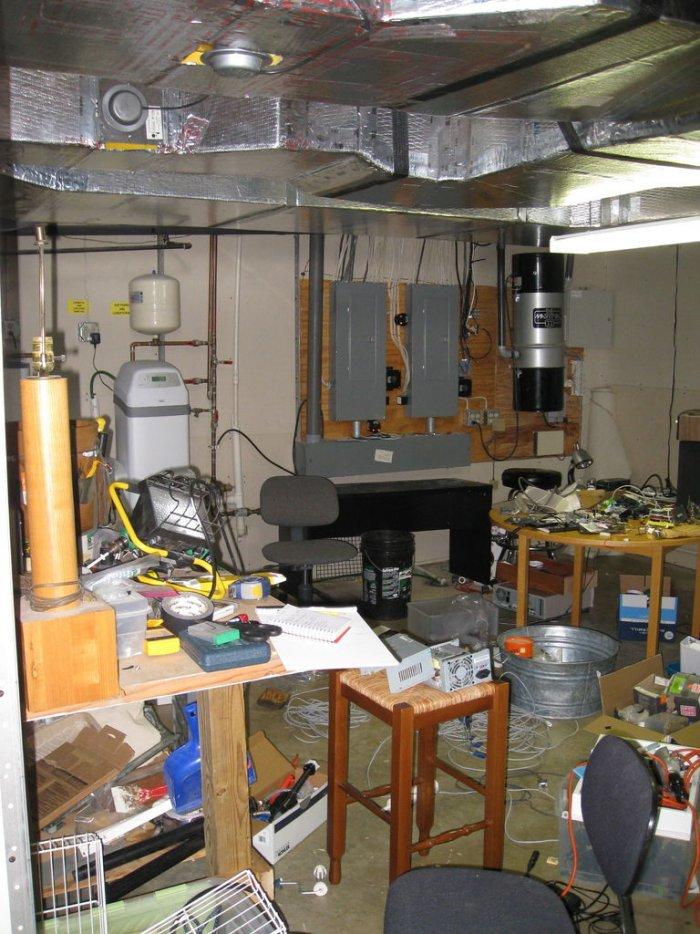 Обустройство рабочей зоны в мастерской