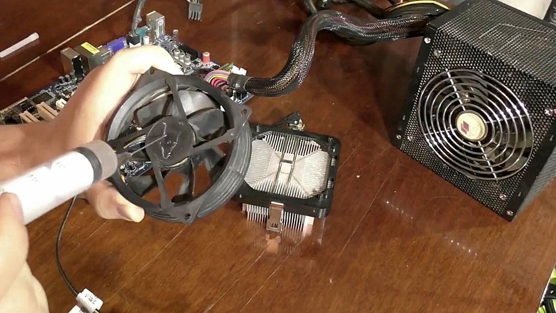 Смазка необслуживаемого компьютерного кулера