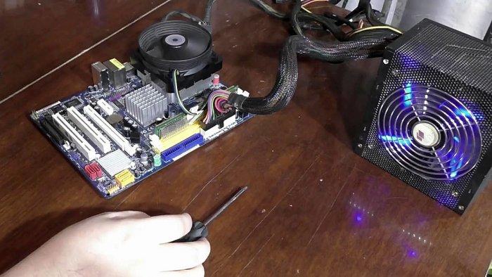 Процесс смазки необслуживаемого компьютерного кулера