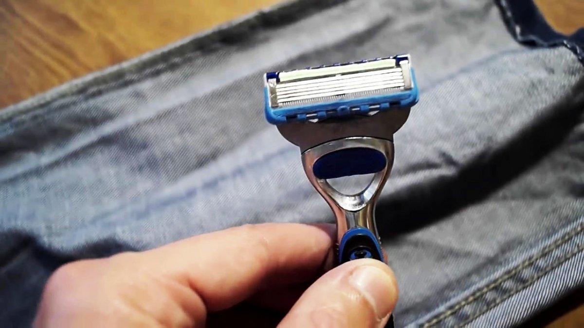 Как наточить одноразовую бритву в домашних условиях
