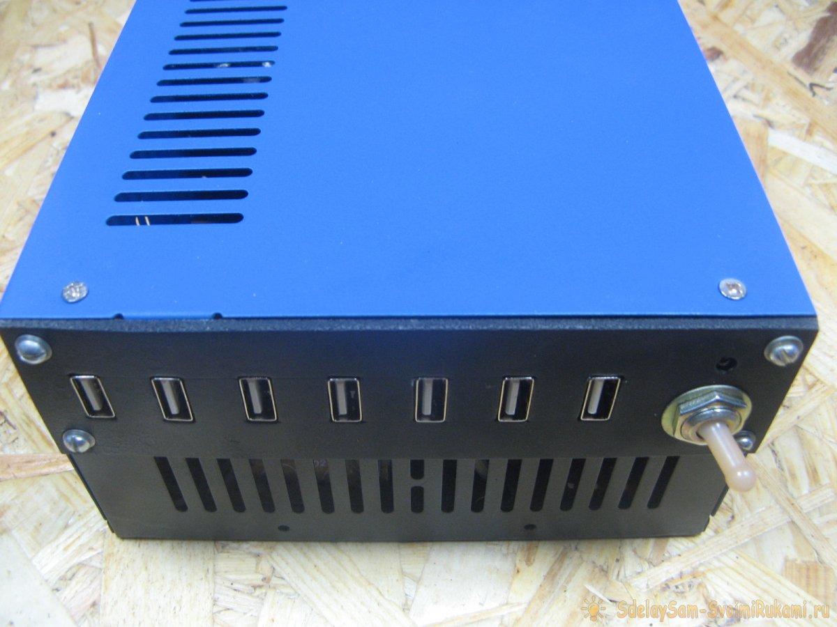 USB зарядка которая зарядит все гаджеты за один раз